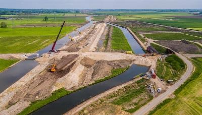 Inspectie realisatie Hoogwatergeul Veessen-Wapenveld